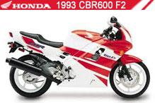 1993 Honda CBR600F2 zubehör