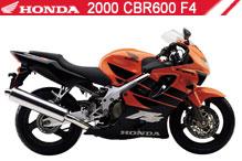 2000 Honda CBR600F4 zubehör