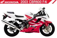 2003 Honda CBR600F4i zubehör