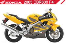 2005 Honda CBR600F4i zubehör