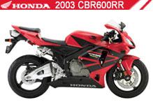 2003 Honda CBR600RR zubehör