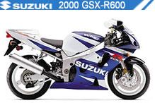 2000 Suzuki GSXR600 zubehör