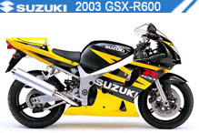 2003 Suzuki GSXR600 zubehör