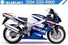 2004 Suzuki GSXR600 zubehör