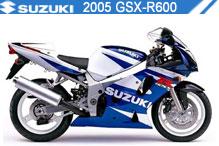 2005 Suzuki GSXR600 zubehör