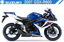 2007 Suzuki GSXR600 zubehör