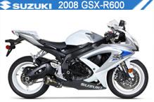 2008 Suzuki GSXR600 zubehör