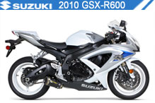 2010 Suzuki GSXR600 zubehör