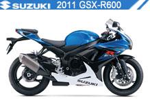 2011 Suzuki GSXR600 zubehör
