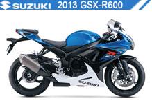 2013 Suzuki GSXR600 zubehör