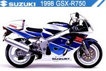 1998 Suzuki GSXR750 zubehör