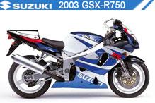 2003 Suzuki GSXR750 zubehör