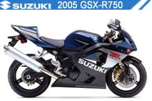 2005 Suzuki GSXR750 zubehör