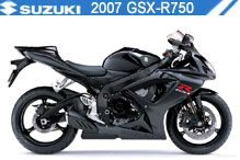 2007 Suzuki GSXR750 zubehör