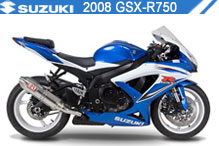 2008 Suzuki GSXR750 zubehör