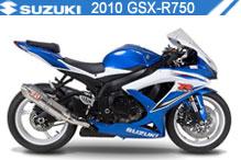 2010 Suzuki GSXR750 zubehör