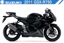 2011 Suzuki GSXR750 zubehör