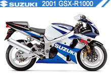 2001 Suzuki GSXR1000 zubehör