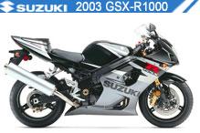 2003 Suzuki GSXR1000 zubehör