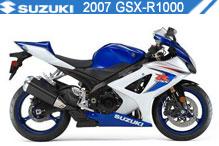 2007 Suzuki GSXR1000 zubehör