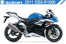2011 Suzuki GSXR1000 zubehör