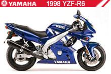 1998 Yamaha YZF-R6 zubehör