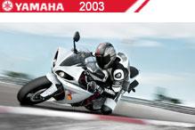 2003 Yamaha zubehör