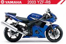 2003 Yamaha YZF-R6 zubehör