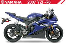2007 Yamaha YZF-R6 zubehör