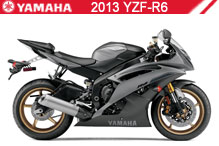 2013 Yamaha YZF-R6 zubehör