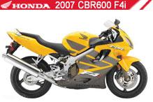 2007 Honda CBR600F4i zubehör