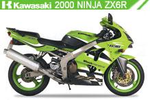 2000 Kawasaki Nina ZX-6R zubehör