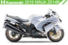 2015 Kawasaki Ninja ZX-14R zubehör