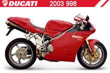 2003 Ducati 998 zubehör