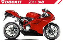 2011 Ducati 848 zubehör