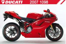 2007 Ducati 1098 zubehör
