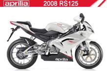 2008 Aprilia RS125 zubehör