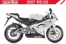 2007 Aprilia RS125 zubehör