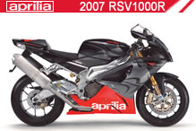 2007 Aprilia RSV 1000R zubehör