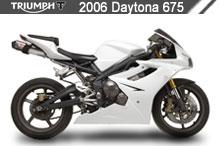 2006 Triumph Daytona 675 zubehör