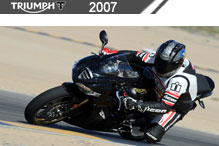 2007 Triumph zubehör