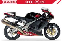 2000 Aprilia RS250 zubehör