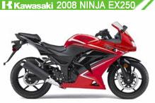 2008 Kawasaki Ninja EX250 zubehör