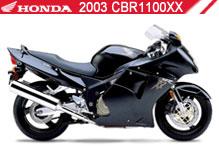 2003 Honda CBR1100XX zubehör