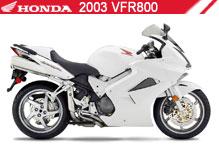 2003 Honda VFR800 zubehör