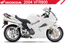 2004 Honda VFR800 zubehör
