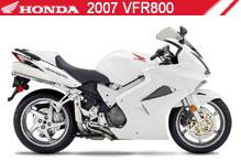 2007 Honda VFR800 zubehör