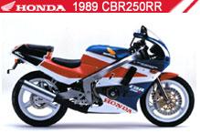1989 Honda CBR250RR zubehör