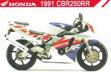 1991 Honda CBR250RR zubehör