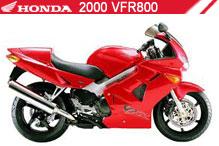 2000 Honda VFR800 zubehör